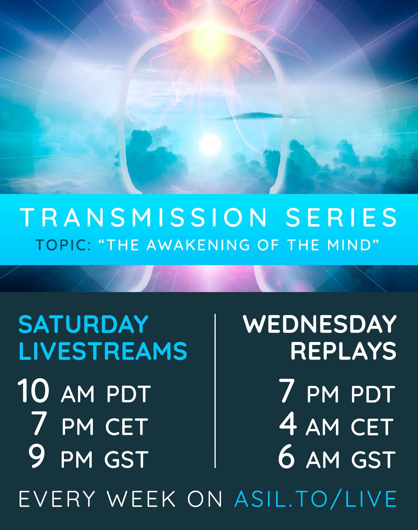 Transmission Livestream Series